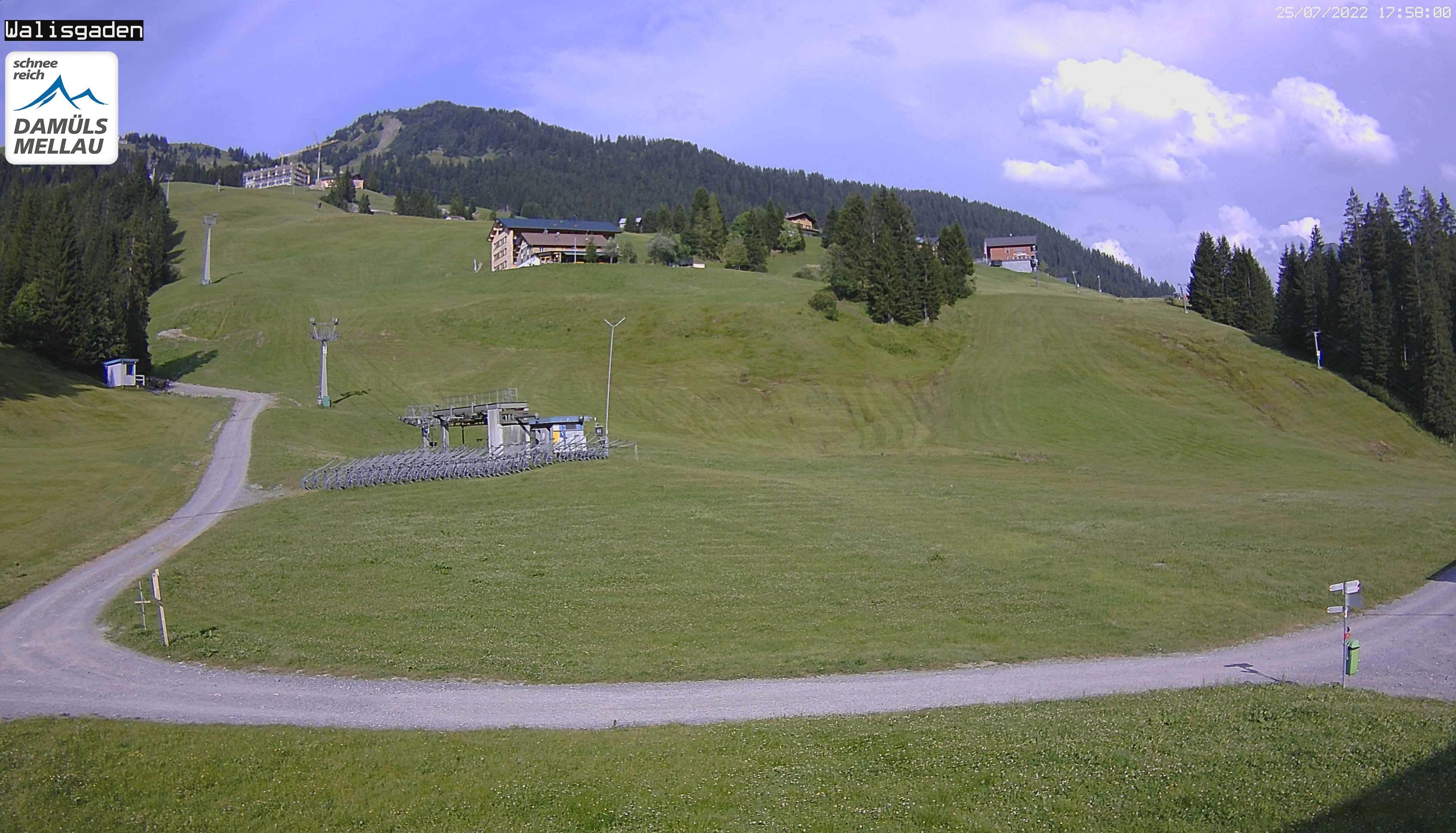 Webcam Walisgaden Damüls 1450m